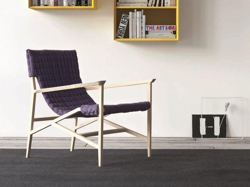 Isotta Fabric Armchair