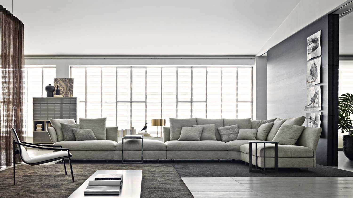 molteni c holiday sofa buy from campbell watson uk. Black Bedroom Furniture Sets. Home Design Ideas