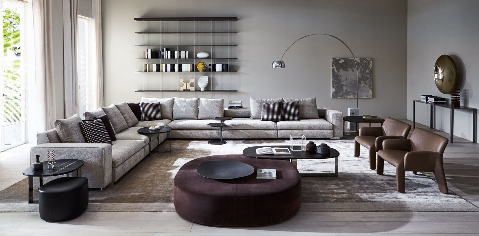 Molteni c turner sofa buy from campbell watson uk for Sofas modulares precios