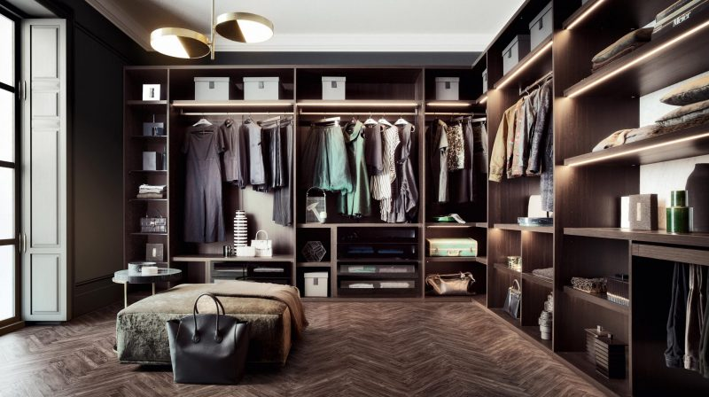 Sipario Walk in Wardrobe