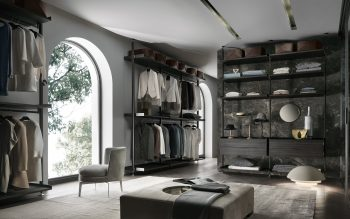 Rimadesio Zenit Walk In Wardrobe