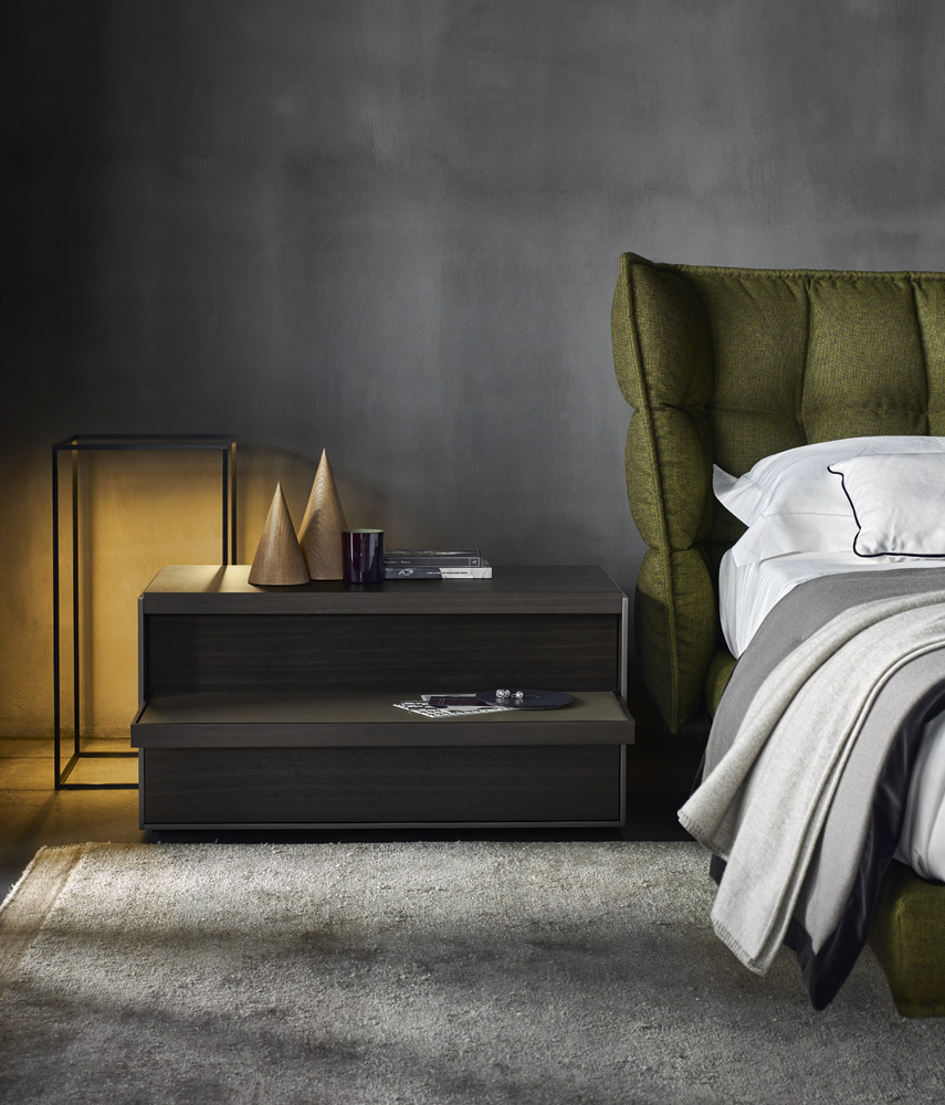 b b italia husk bed buy from campbell watson uk. Black Bedroom Furniture Sets. Home Design Ideas