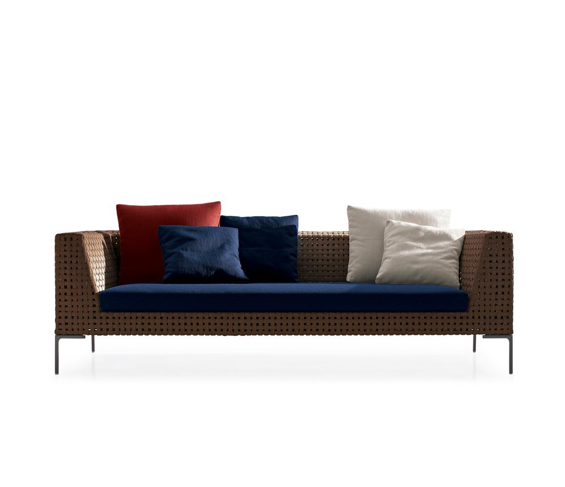 B b italia outdoor charles sofa buy from campbell watson uk for Sofa exterior