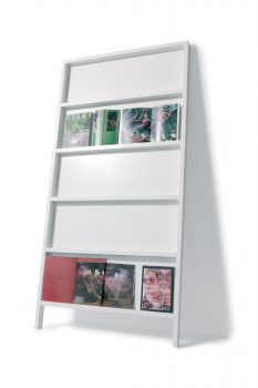 Oblique Lacquered Display