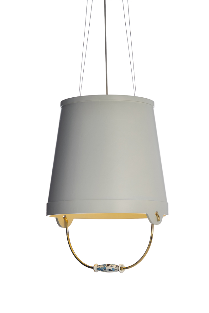 Moooi bucket suspension lamp buy from campbell watson uk for Suspension 4 lampes