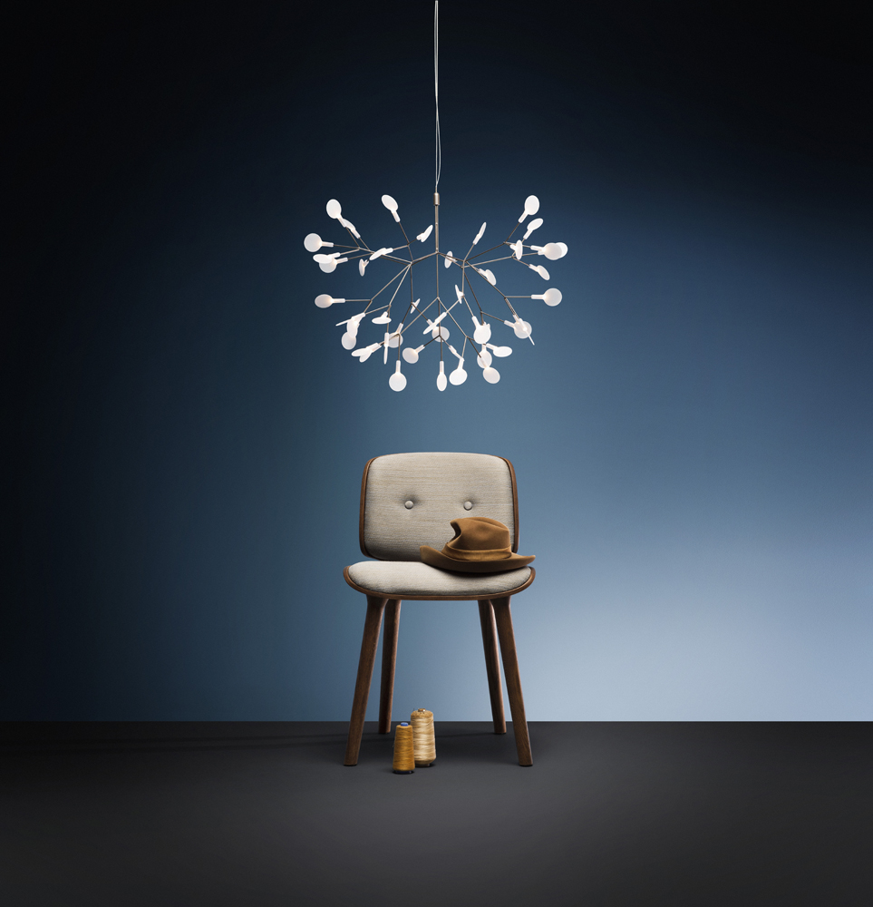 Moooi heracleum ii suspension light buy from campbell for Suspension 4 lampes