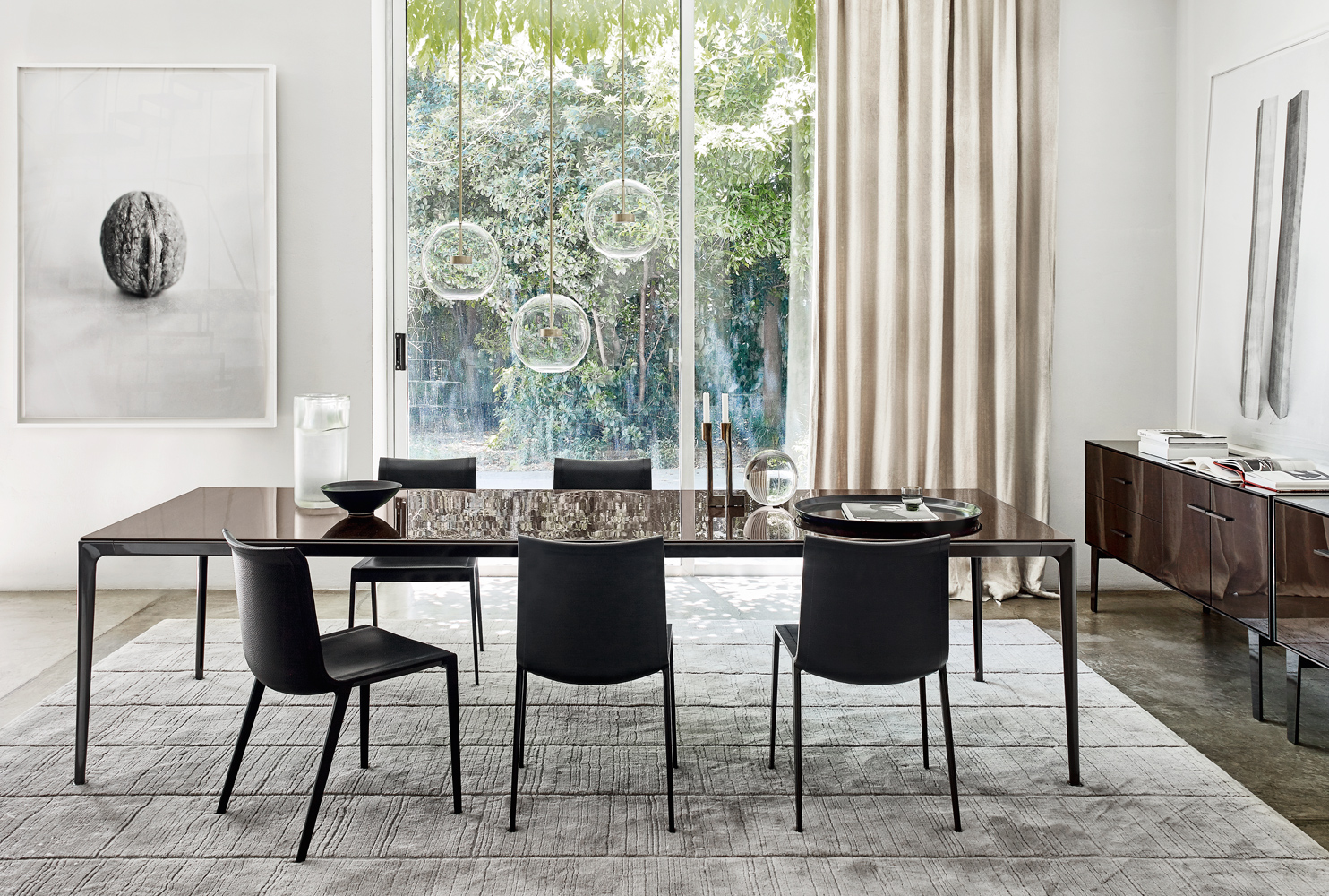 B Amp B Italia Mirto Table Buy From Campbell Watson Uk