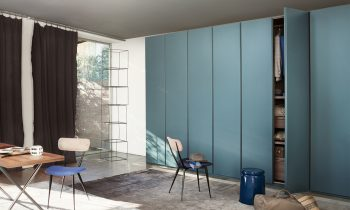 Conca Hinged Door Wardrobe