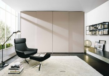 EmmeBi Atlante Sheer Sliding Wardrobe