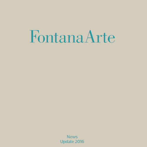 Fontana Arte News '16 cover