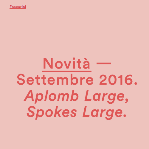 Foscarini News cover
