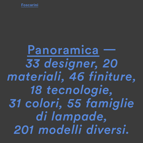 Foscarini Panoramica cover