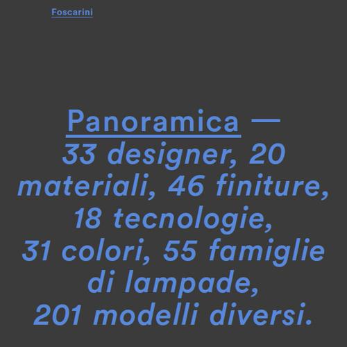 Foscarini Panoramica cover