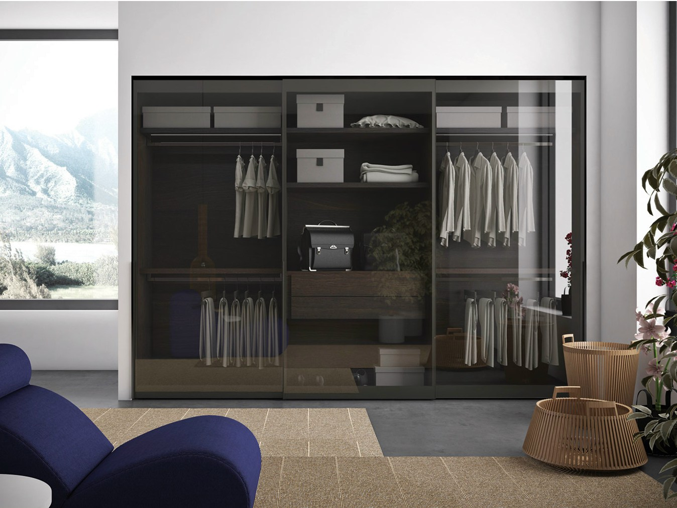 Vitrum Glass Wardrobe
