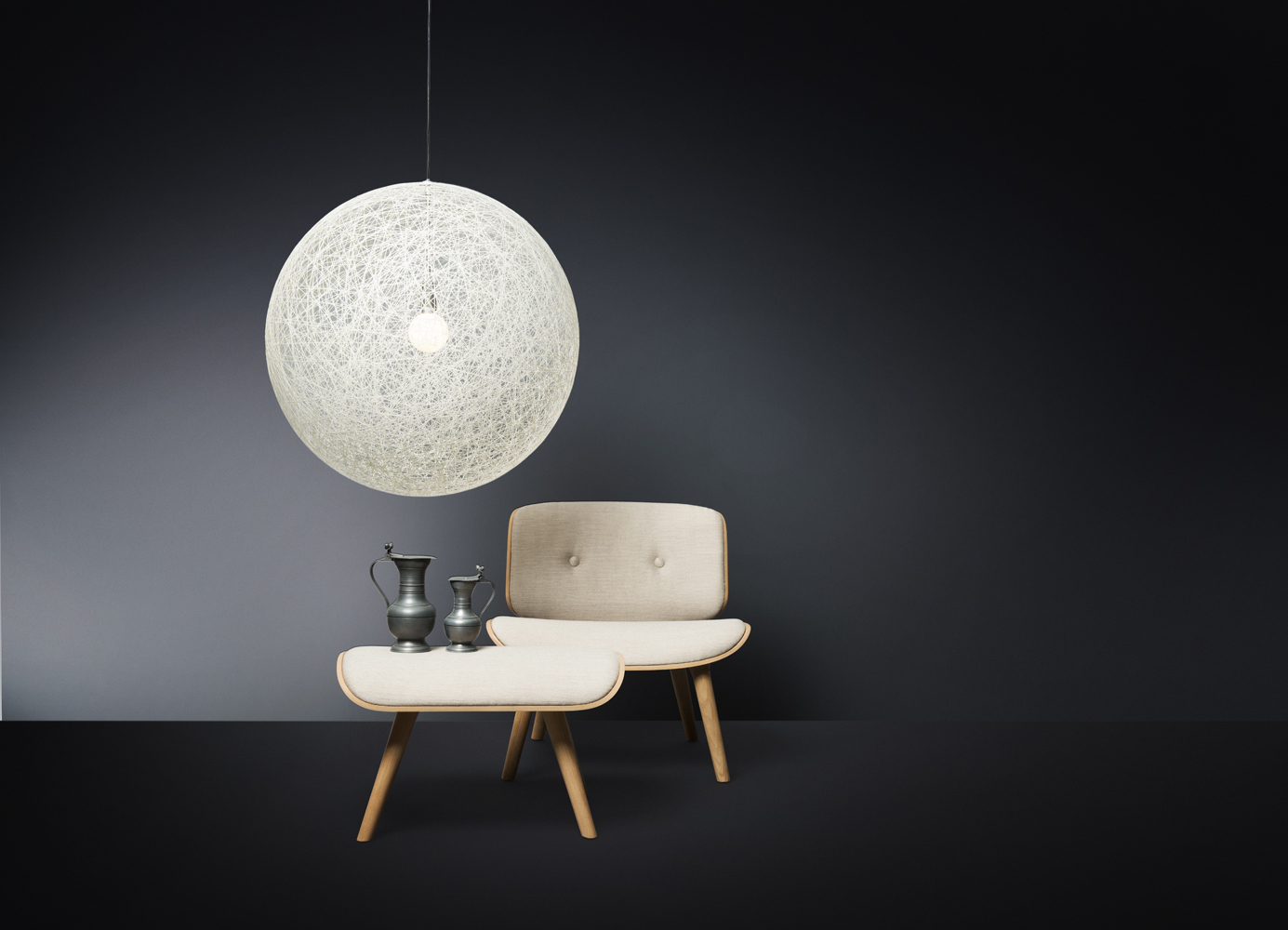 Moooi random led suspension light buy from campbell watson for Suspension led exterieur