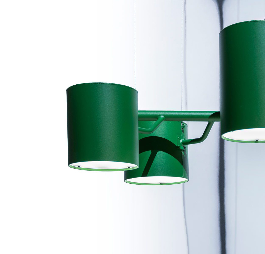 Moooi statistocrat suspension lamp buy from campbell for Suspension 4 lampes