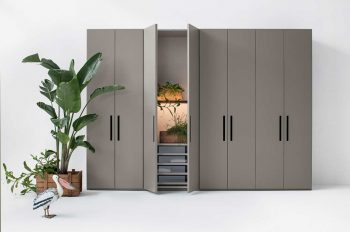 Ellevi Hinged Door Wardrobe