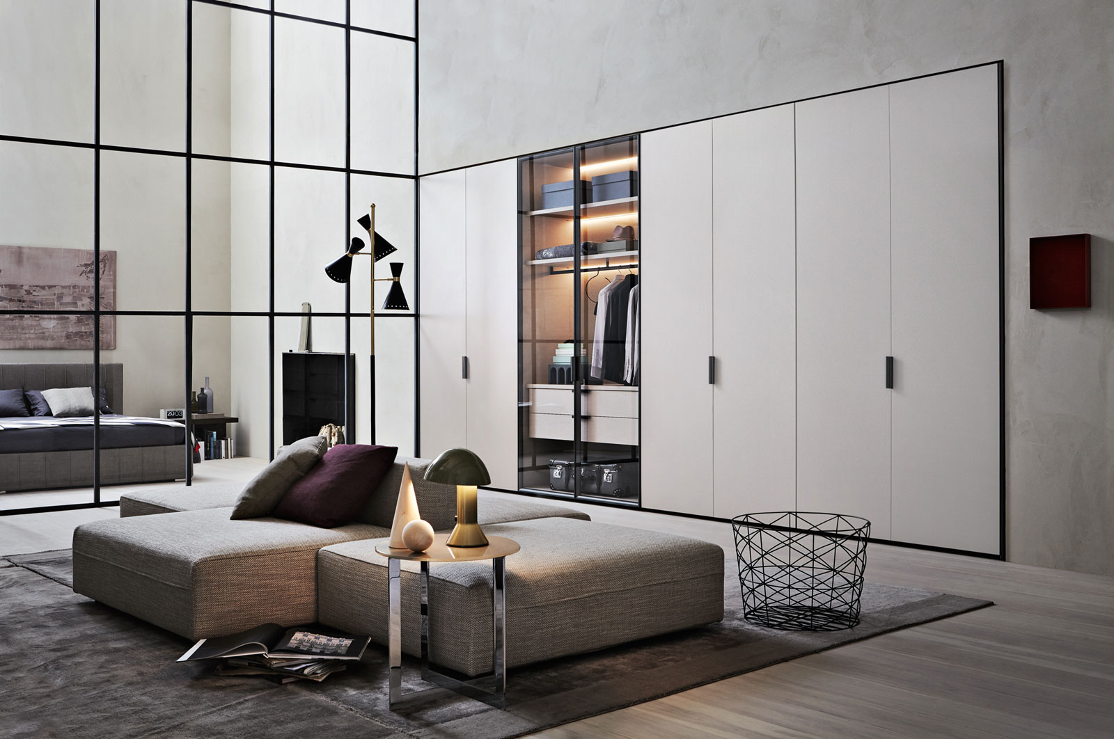 molteni c gliss master grip hinged door wardrobe buy from campbell watson uk. Black Bedroom Furniture Sets. Home Design Ideas
