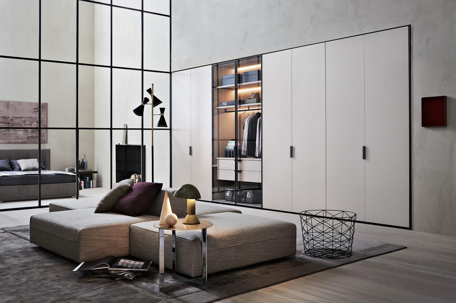 molteni c gliss master grip hinged door wardrobe buy. Black Bedroom Furniture Sets. Home Design Ideas