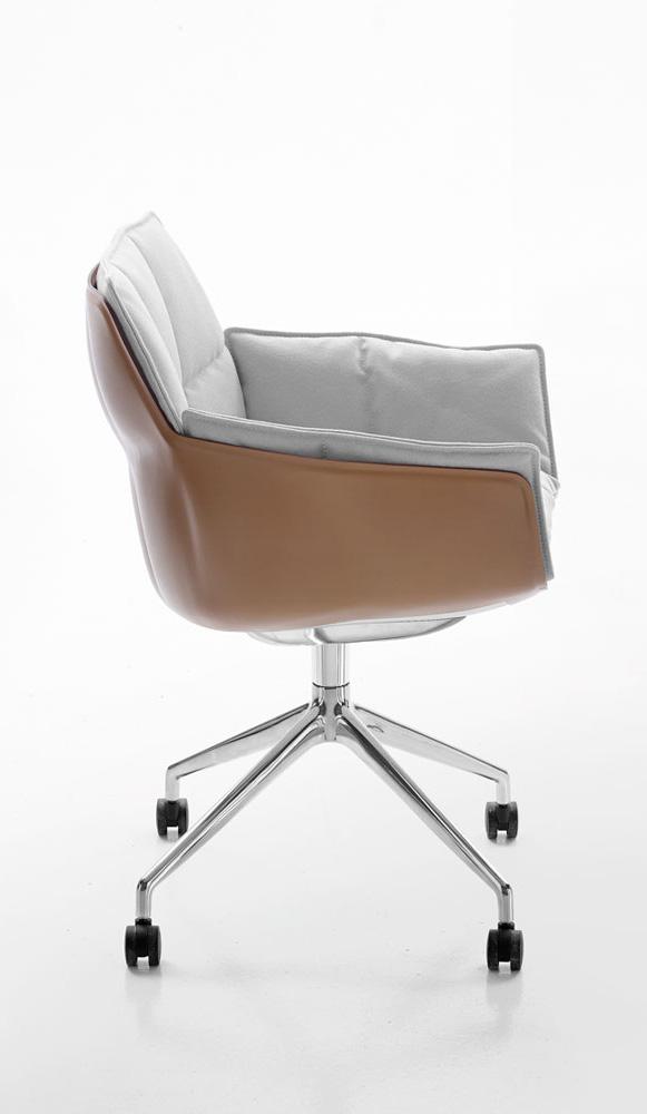 b b italia husk 15 desk chair buy from campbell watson uk