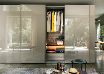 Lema Text Sliding Wardrobe