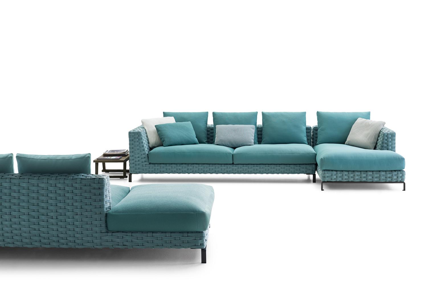B B Italia Outdoor Ray Fabric Sofa Buy From Campbell Watson Uk