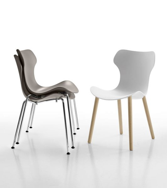 Papilio Shell Dining Chair