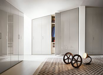 Liscia Hinged Door Wardrobe