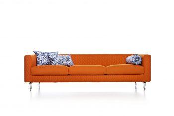 Boutique Delft Blue Jumper Sofa
