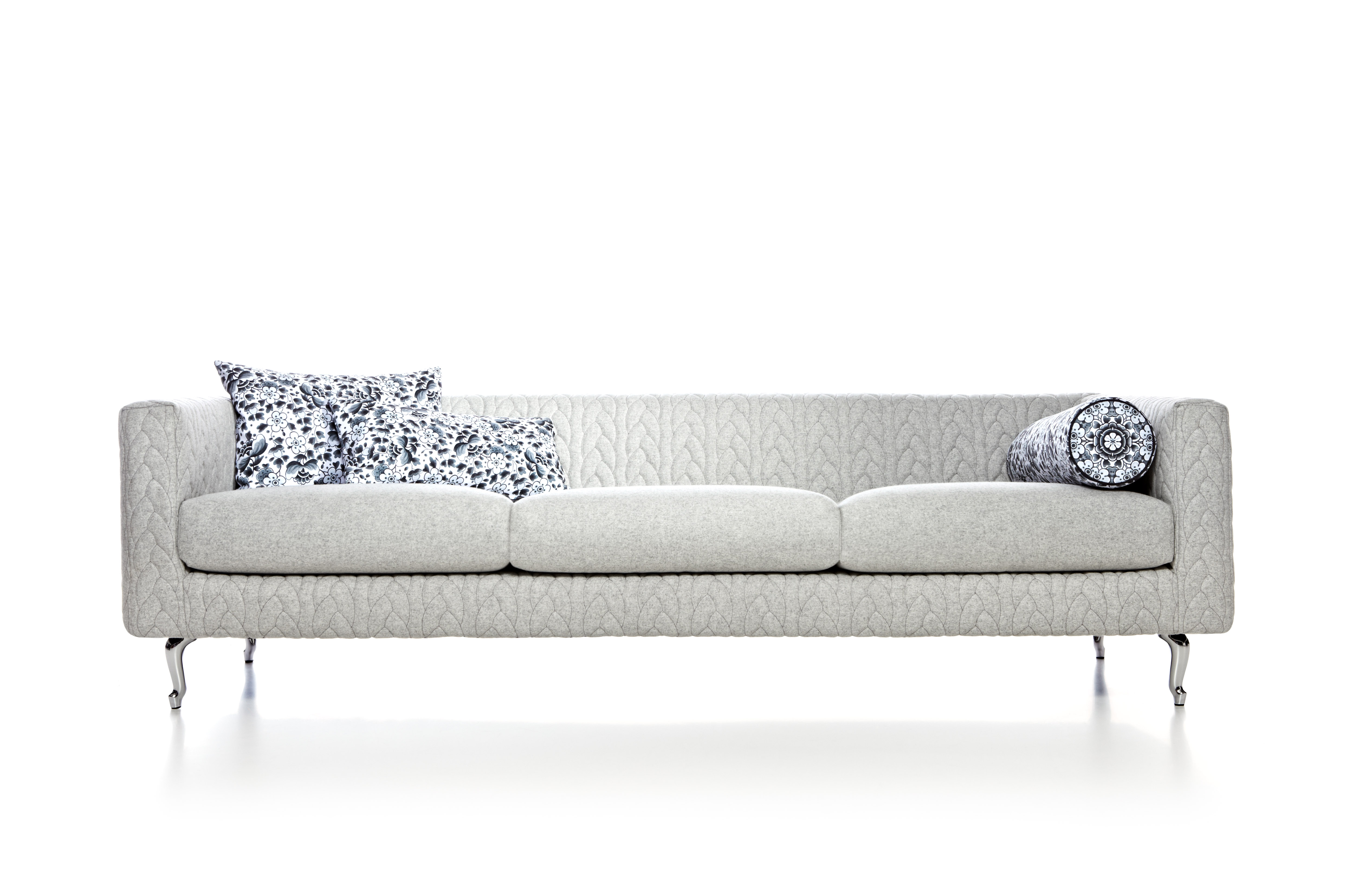 Boutique Delft Grey Jumper Sofa