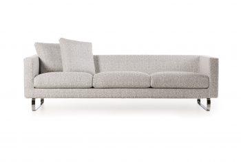 Boutique Silver Sofa
