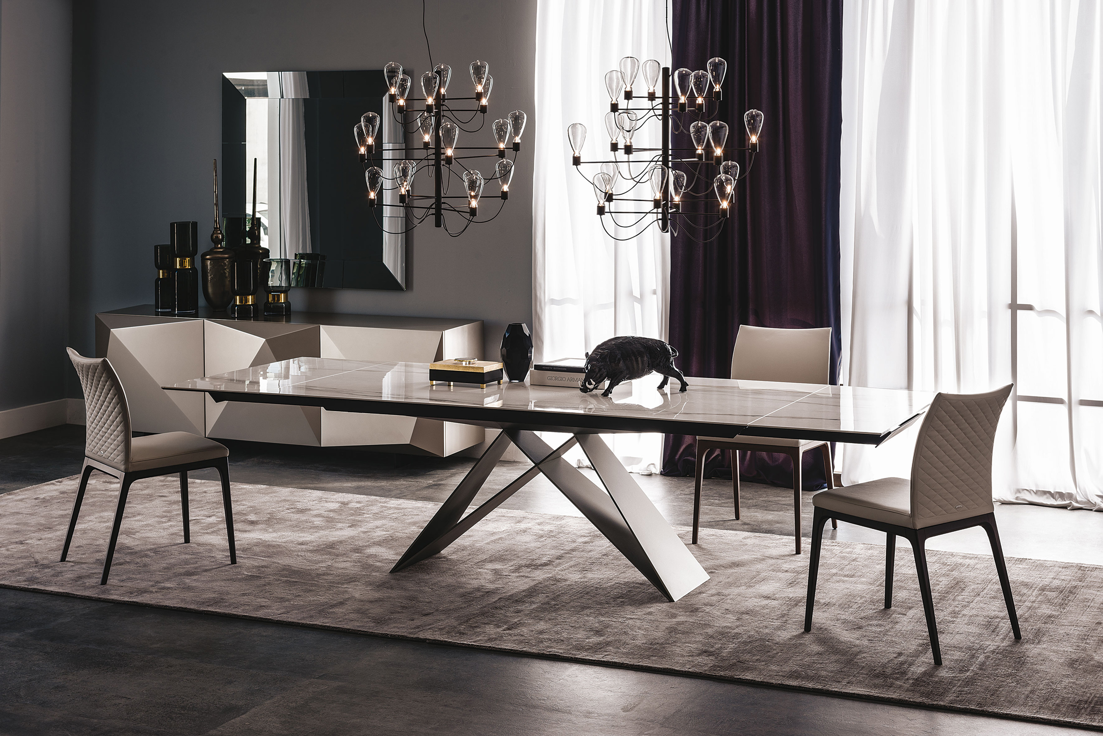 cattelan italia premier drive ceramic table buy from campbell watson. Black Bedroom Furniture Sets. Home Design Ideas