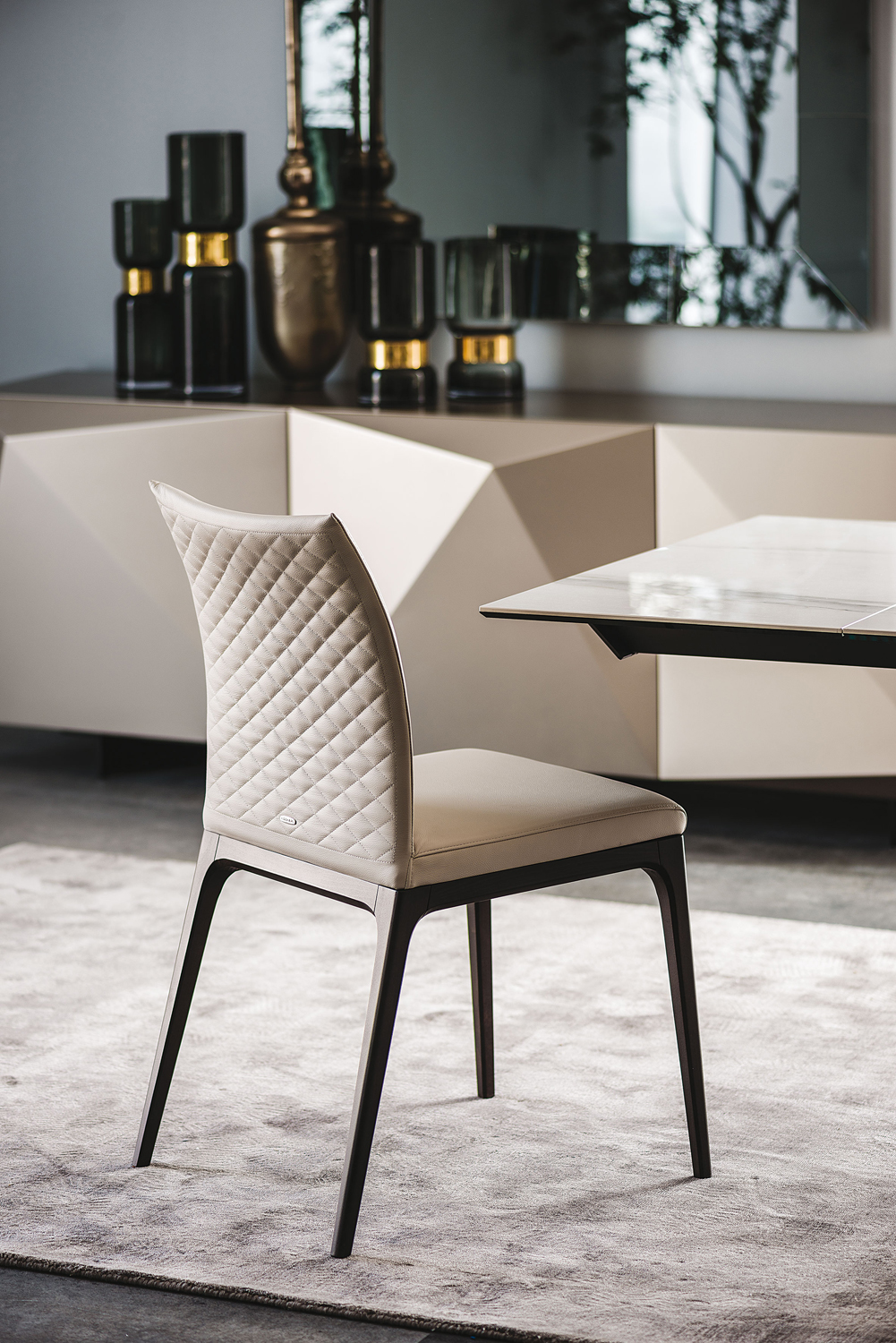 Cattelan Italia Arcadia Couture Chair Buy From Campbell Watson Uk - The-elegance-of-the-arcadia