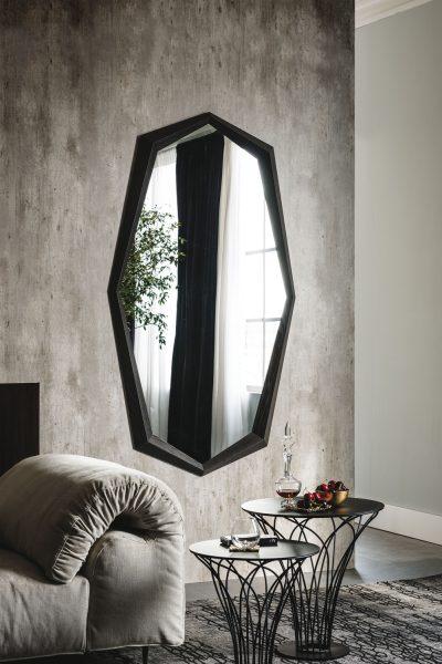 Emerald Wood Mirror
