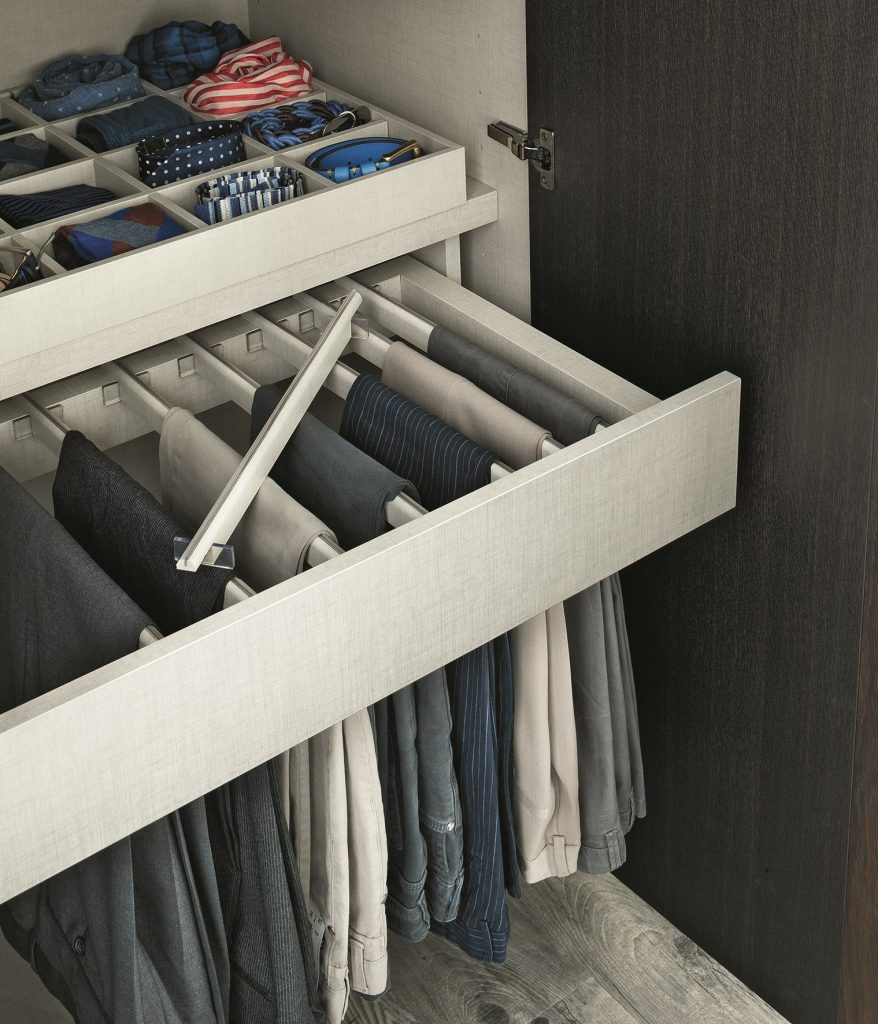 Pull Out Trouser Rack