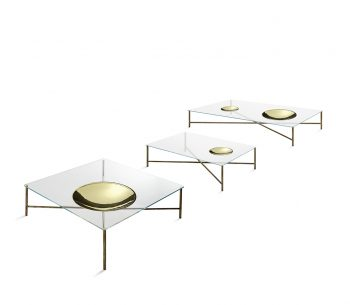 Golden Moon Coffee Table