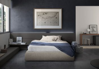Impunto Bed without Headboard