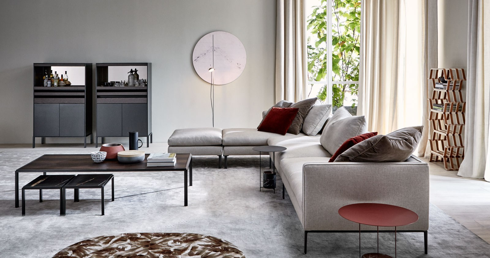 molteni c paul sofa buy from campbell watson uk. Black Bedroom Furniture Sets. Home Design Ideas