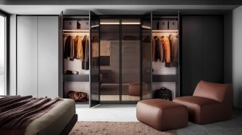 Vitrum Hinged Door Wardrobe