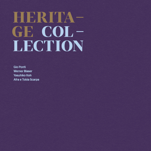 Molteni&C Heritage Collection Cover