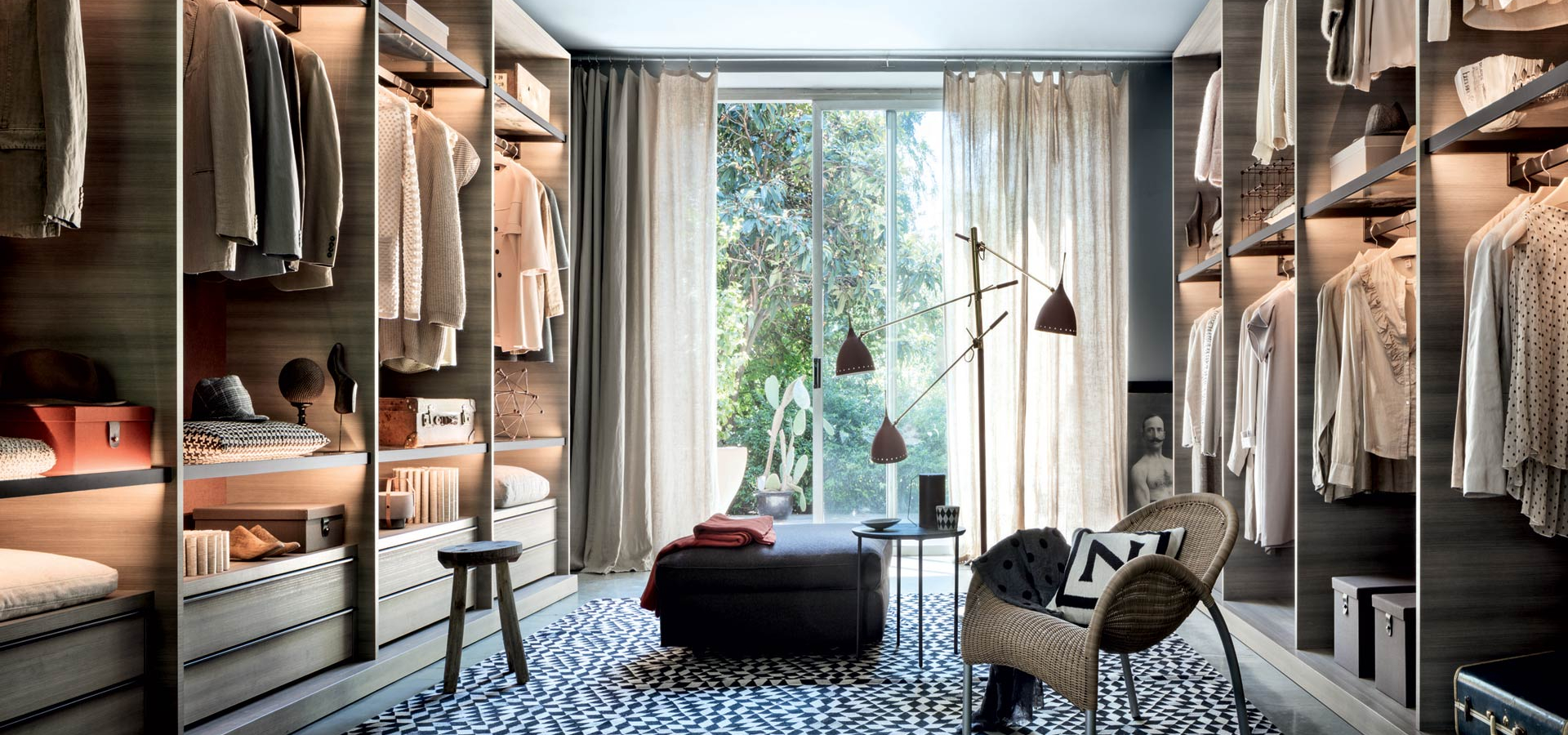 Luxury Italian Walk In Wardrobes Dressing Rooms Campbell Watson