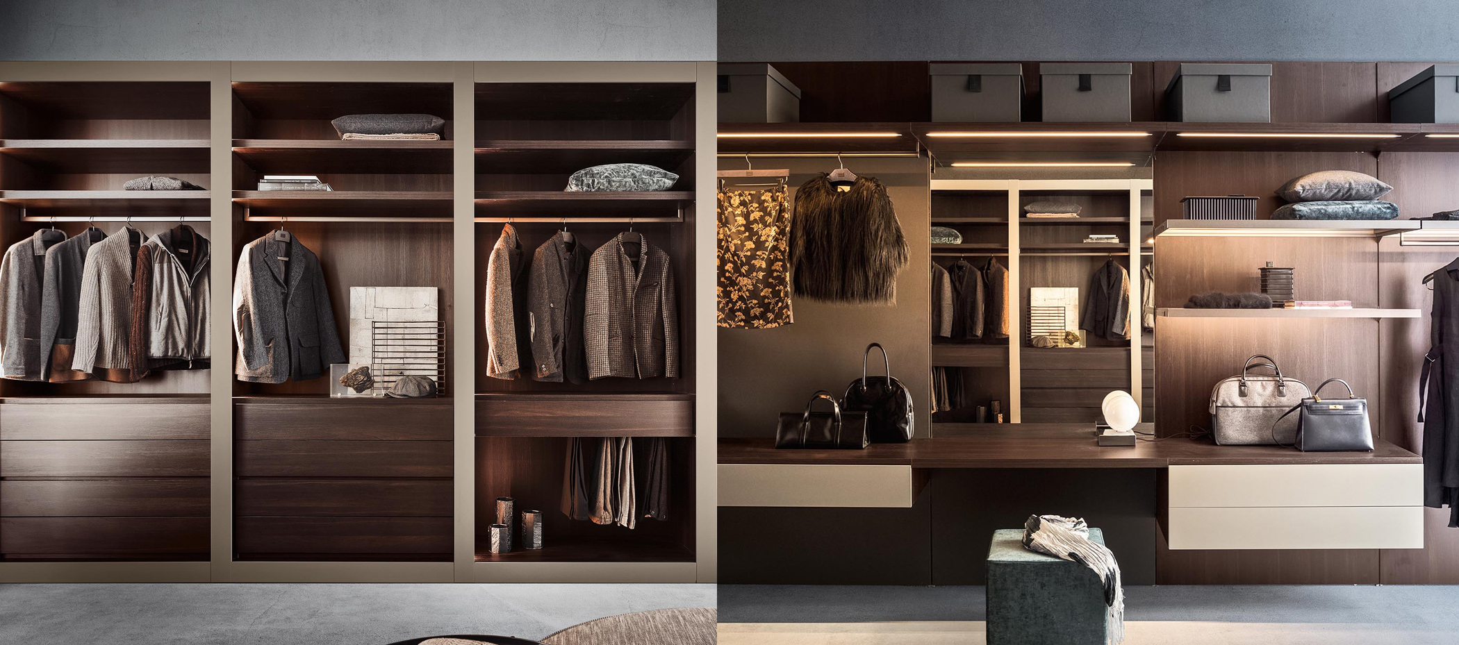 Walk in Wardrobe Types