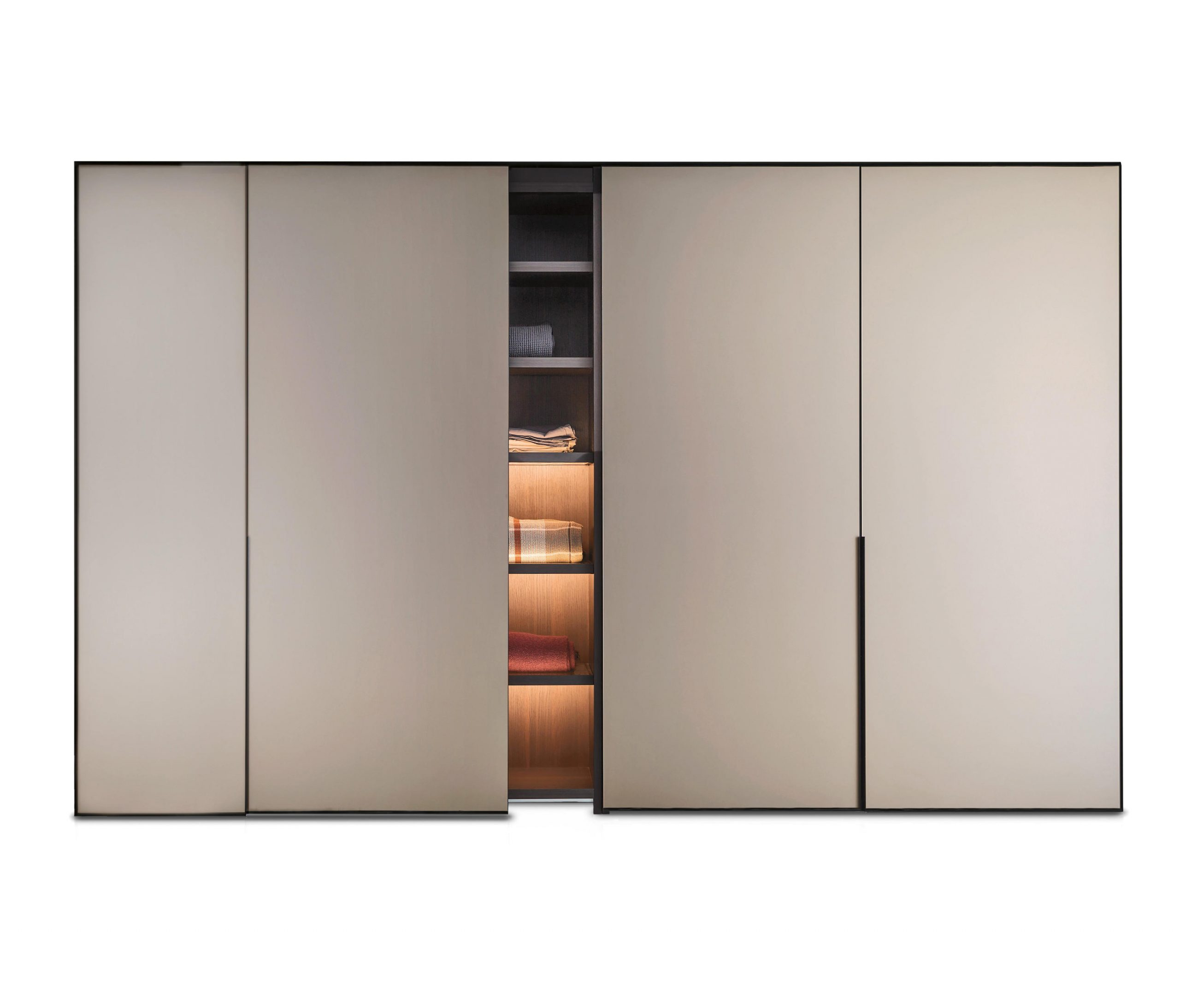 Cornice Sliding Door Wardrobe