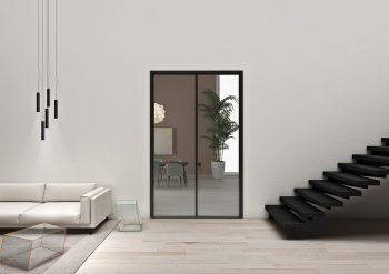 Aladin Framed Double Hinged Door