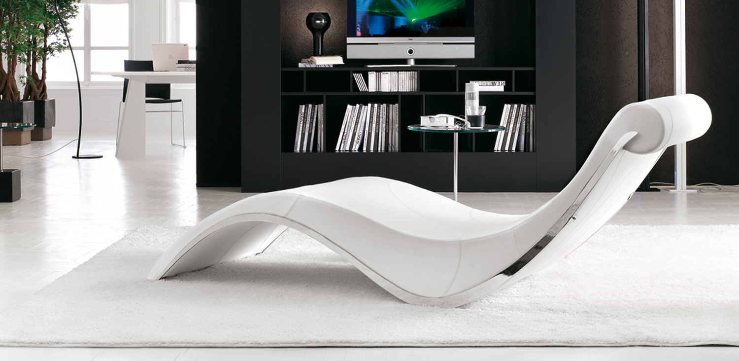Cattelan italia sylvester chaise longue for Chaise longue uk sales