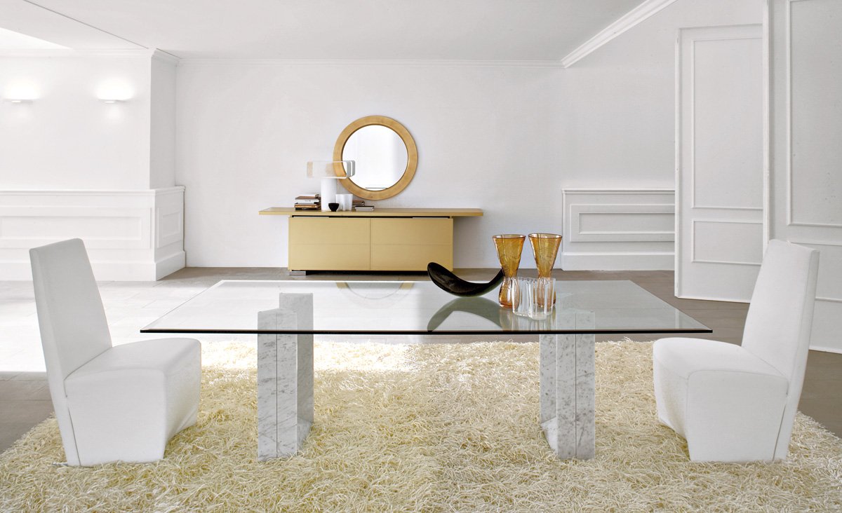 cattelan italia diapason table. Black Bedroom Furniture Sets. Home Design Ideas
