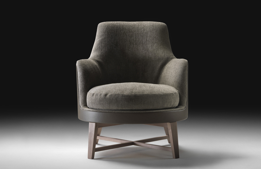 Flexform guscio soft armchair buy from campbell watson uk for Poltrone flexform