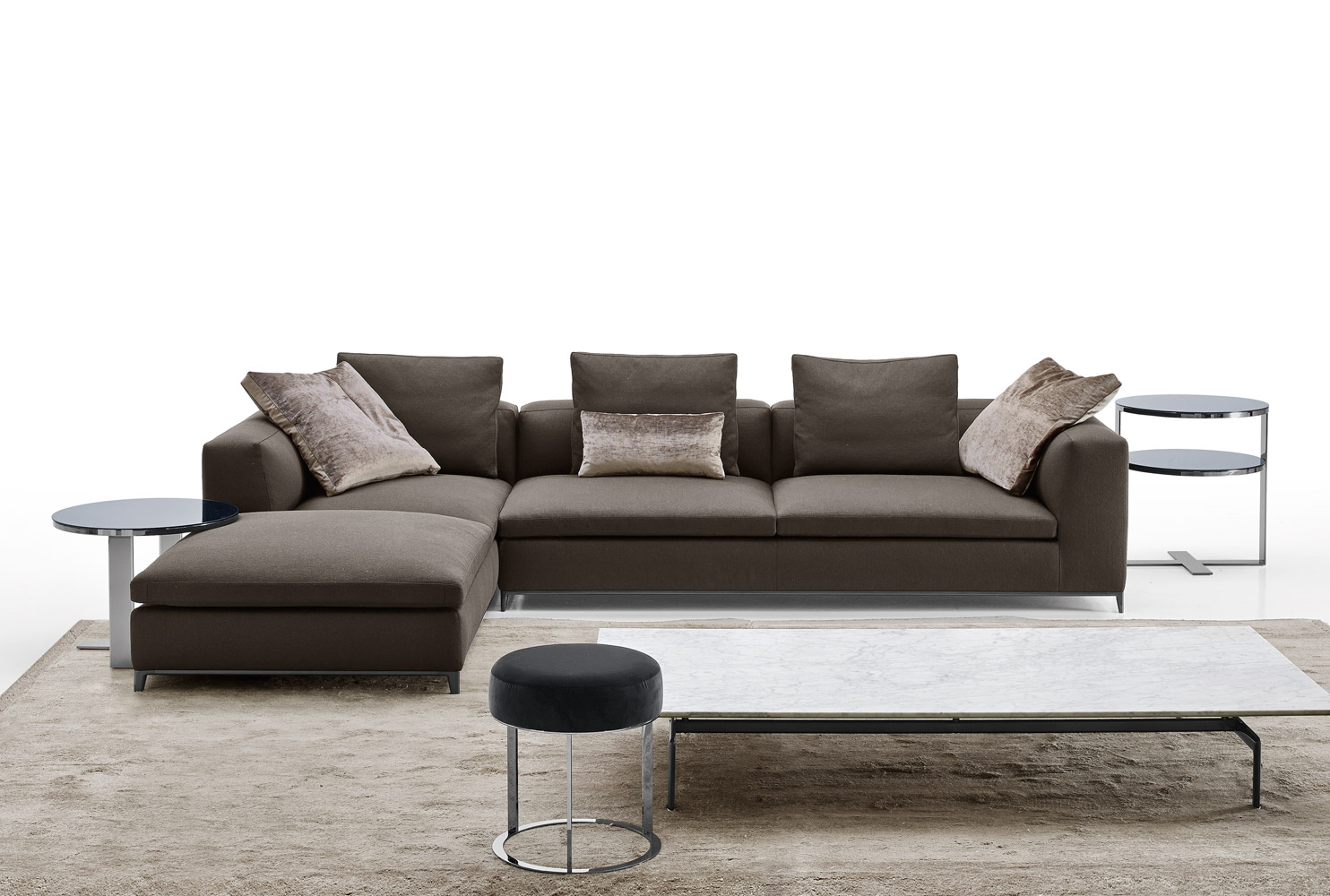 b b italia michel club sofa buy from campbell watson uk. Black Bedroom Furniture Sets. Home Design Ideas