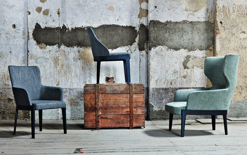 Clearance: Chelsea Chair Molteni & C (New)