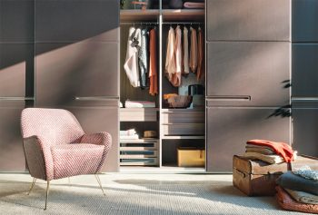 Lema Warm Sliding Door Wardrobe